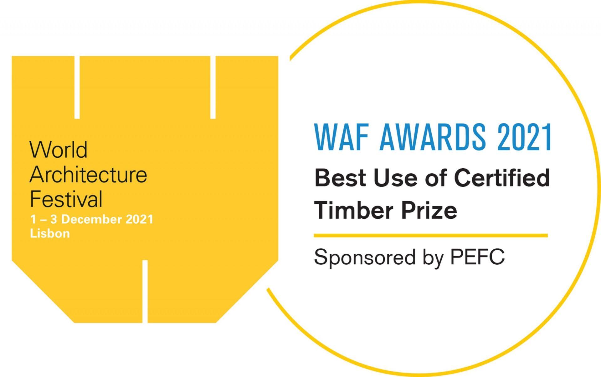 Premio al mejor uso de la madera certificada 2021: el World Architecture Festival anuncia nuevas fechas.